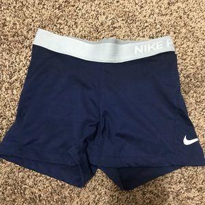 Blue Nike Spandex